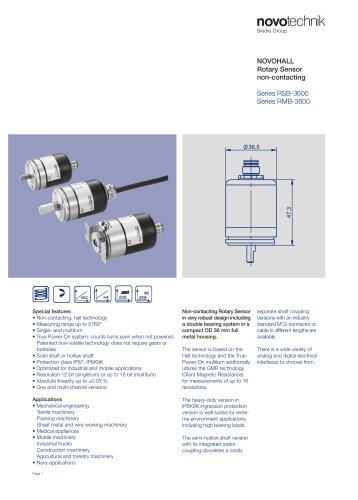 Series RSB-3600 / Series RMB-3600