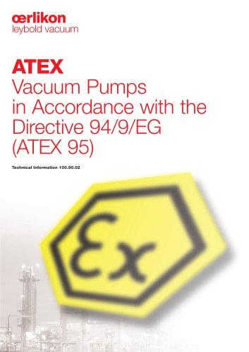 ATEX Vacuum Pumps