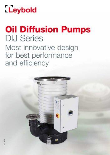 DIJ - Oil Diffusion Pumps
