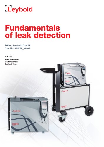 Fundamentals of leak detection