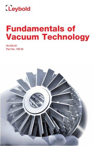 Fundamentals of Vacuum Technology