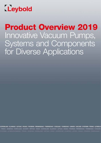 Product Overview 2019