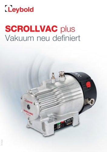 SCROLLVAC plus - Defining Vacuum