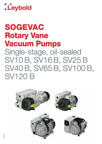 SOGEVAC SV 10 B - SV 120 B