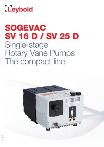 SOGEVAC SV 16 - 25 D