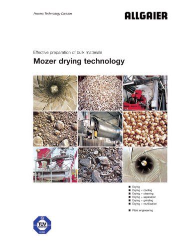 Mozer drying technology