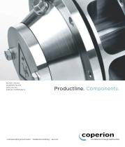 Productline.  Components