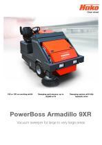 PowerBoss Armadillo 9XR