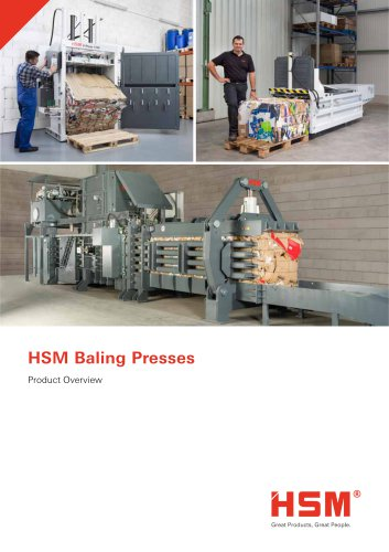 Baling Presses Overview