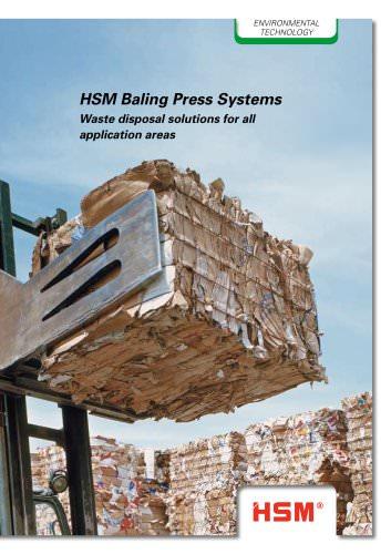 HSM Baling Press Systems
