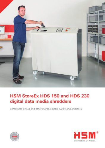 HSM StoreEx HDS 150 and HDS 230