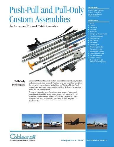 Custom Control Cable Assemblies