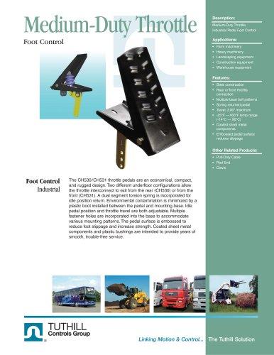 Foot Control - Medium-Duty Throttle