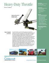 Heavy-Duty Throttle Pedal