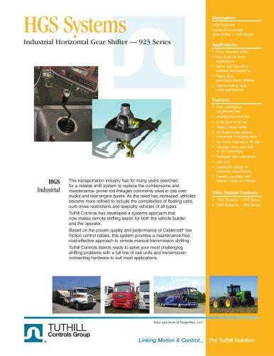 Horizontal Gear Shifter - 923 Series