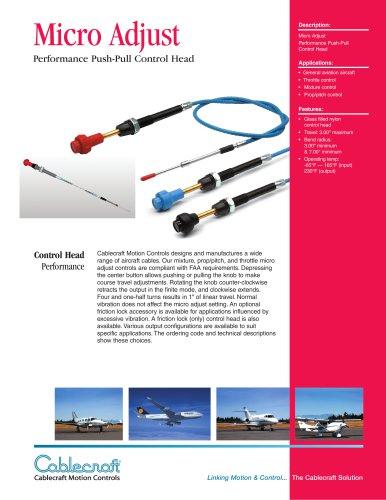 Micro Adjust Aircraft Controls