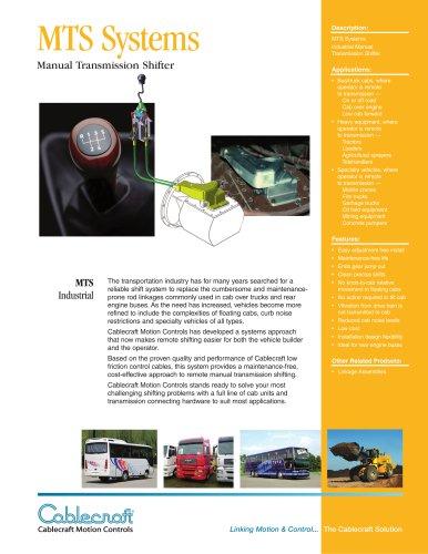 MTS Manual Transmission Shifter