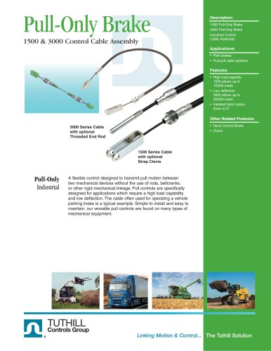 Pull-Only Brake Cable