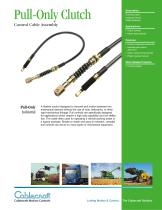 Pull-Only Clutch Control Cables