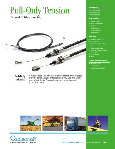 Pull-Only Tension Cables
