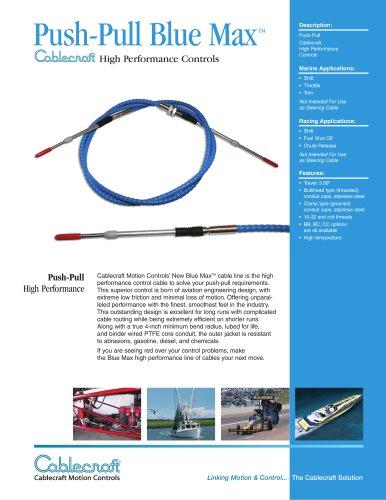 Push-Pull Blue Max TM High Performance Controls