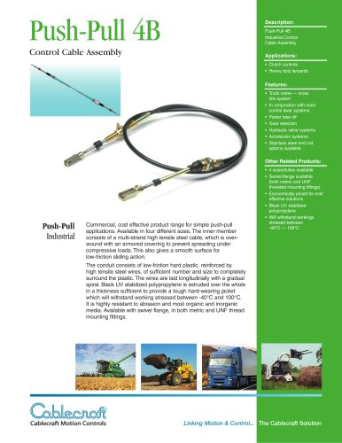 Push-Pull Cable - 4B
