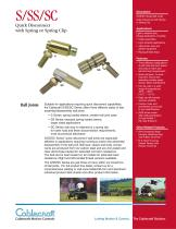 S, SS & SC Ball Joints: Industrial