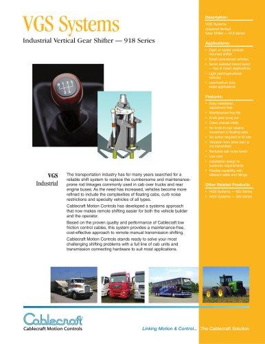 Vertical Gear Shifter 918 Series