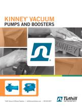 KINNEY ®  VACUUM PUMPS AND BOOSTERS