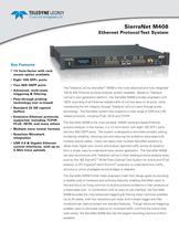 SierraNet M408 Ethernet Protocol Test System