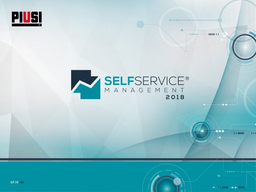 Self Service Management 2018