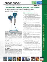 Universal IV Sales Brochure