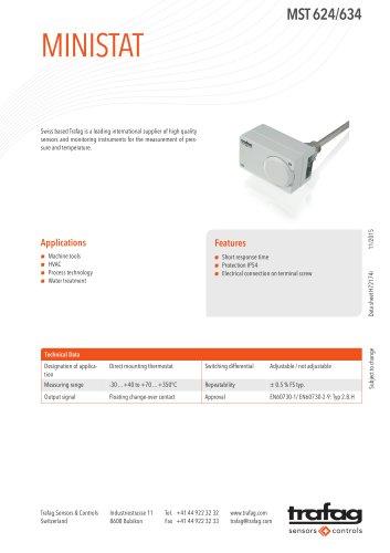 Data Sheet MST 624/634