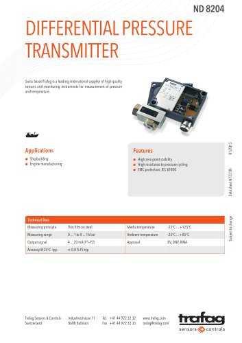 Data Sheet ND 8204