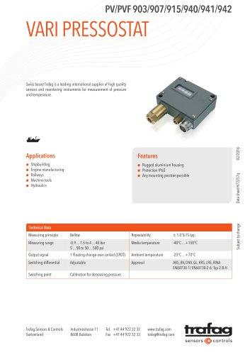 Data Sheet PV/PVF 903/907/915/940/941/942