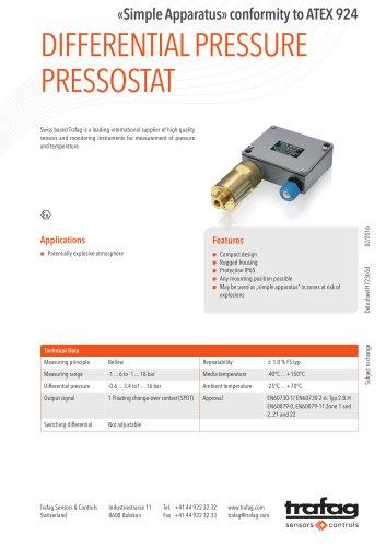 Data Sheet «Simple Apparatus» conformity to ATEX 924