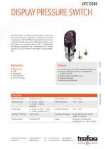 DISPLAY PRESSURE SWITCH DPC 8380