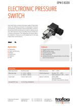ELECTRONIC PRESSURE SWITCH EPN-S 8320