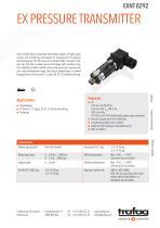 EX PRESSURE TRANSMITTER EXNT 8292