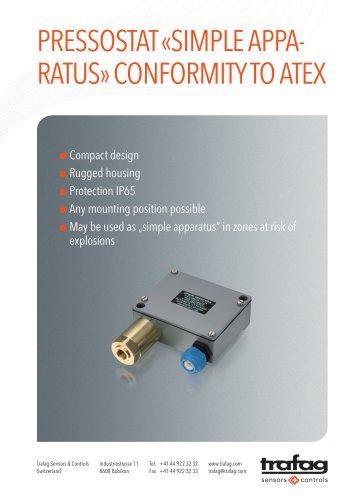 Flyer «Simple Apparatus» conformity to ATEX 904