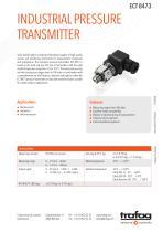 INDUSTRIAL PRESSURE TRANSMITTER ECT 8473