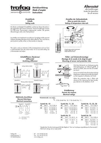 Instruction A2/A2S 198/199