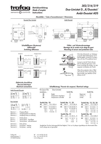 Instruction ADS 319