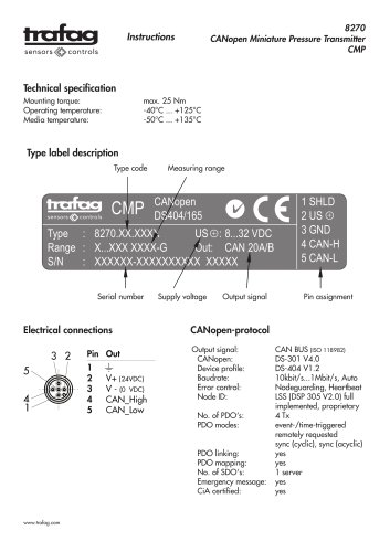 Instruction CMP 8270