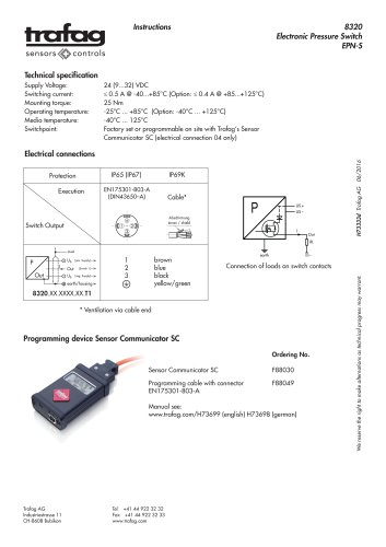 Instruction EPN-S 8320