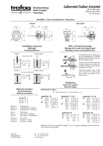 Instruction L/LF 736/754