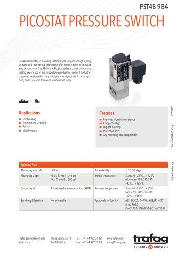 Picostat Pressure Switch PST4B 9B4
