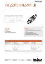 PRESSURE TRANSMITTER NAH 8254