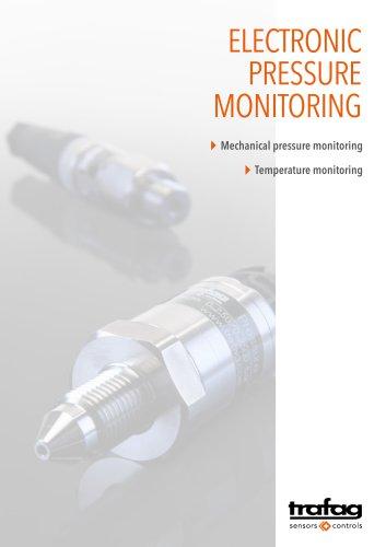 Trafag AG: Electronic pressure monitoring