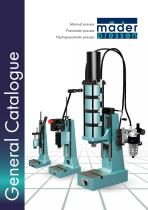 mäder pressen general catalogue